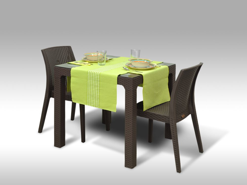 Jídelní sestava Barcelona + 2 židle Benidorm