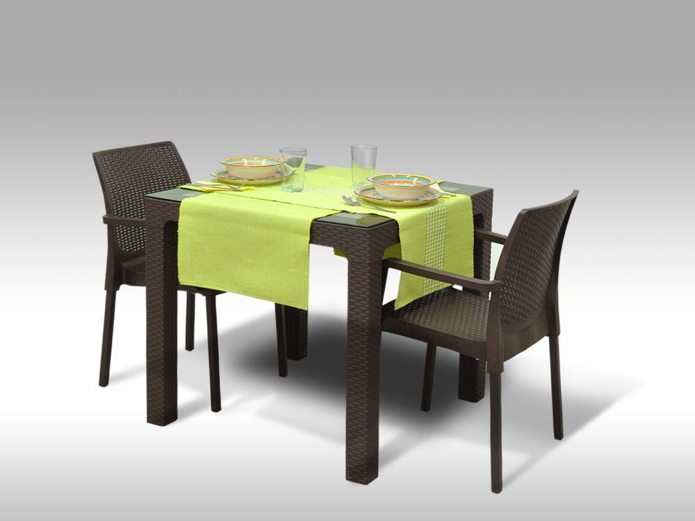 Jídelní sestava Barcelona + 2 židle Cordoba