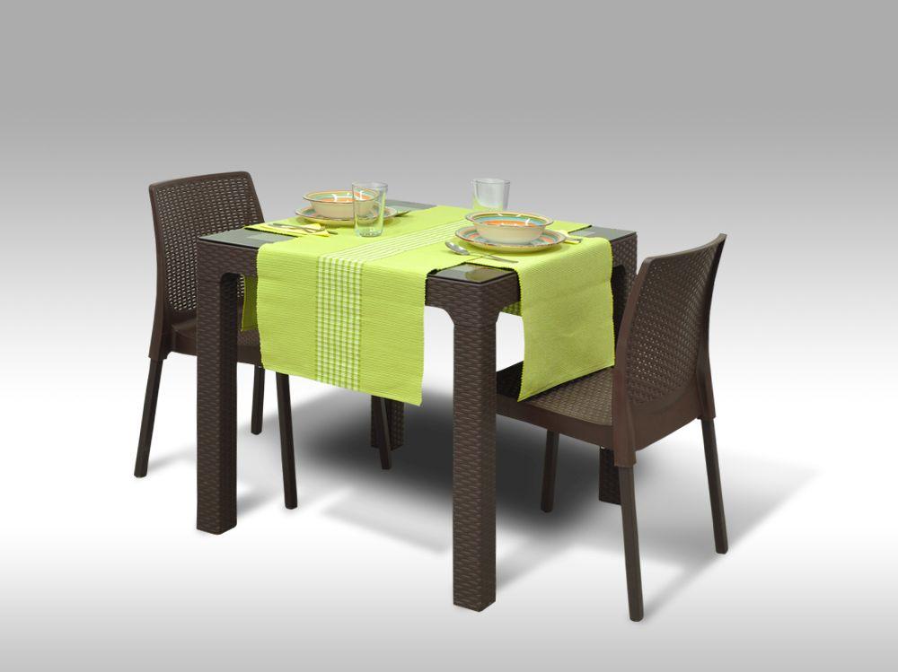 Jídelní sestava Barcelona + 2 židle Malaga
