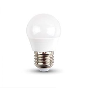 LED žárovka E27 6W 470lm G45 teplá, ekvivalent 40W