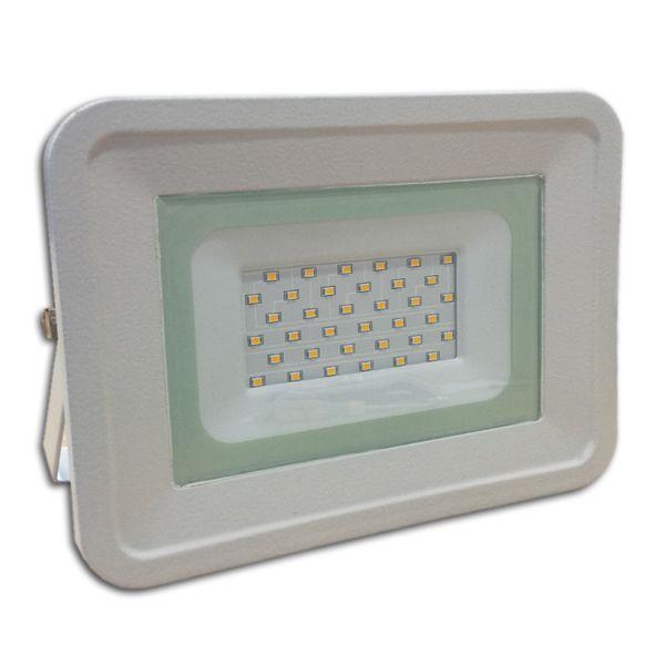 Ultratenký LED reflektor bílý   50W 4250lm, denní