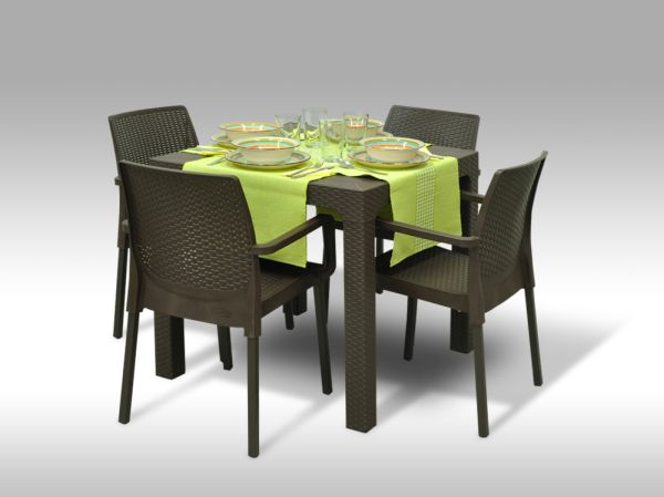 Jídelní sestava Granada + 4 židle Cordoba