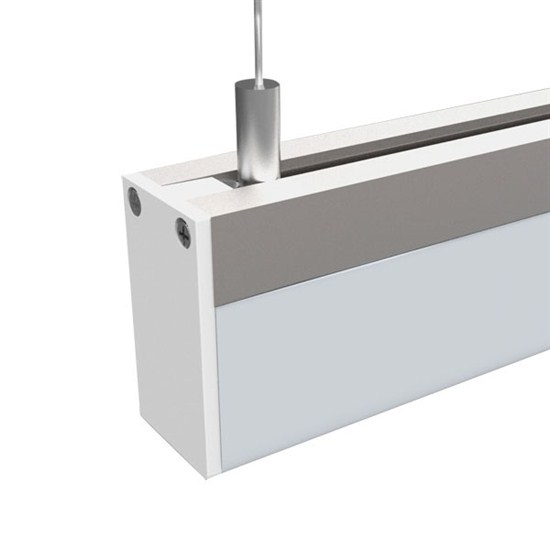 LED závěsné osvětlení,15W, 960lm, 4000K, 100cm,  hranol