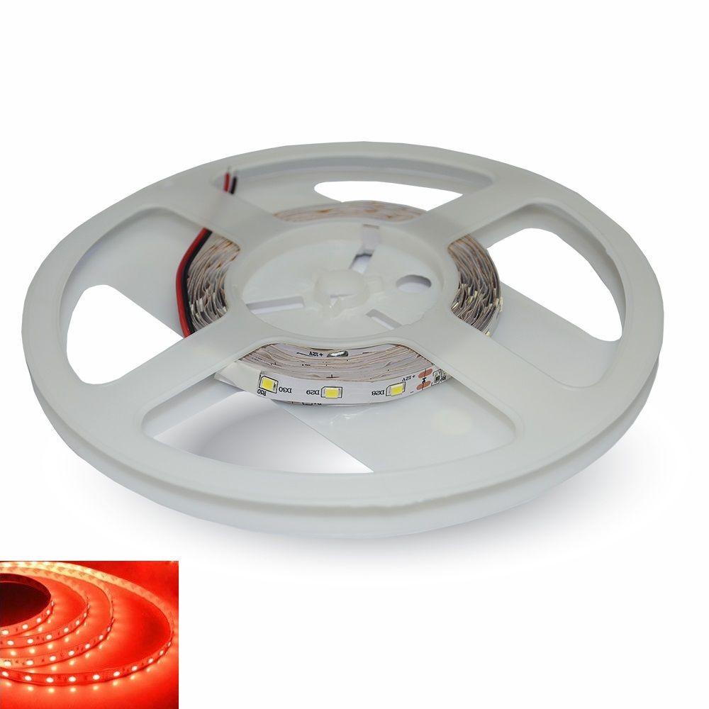 LED pásek 60x3528 smd 3,6W/m, červená, délka 5m