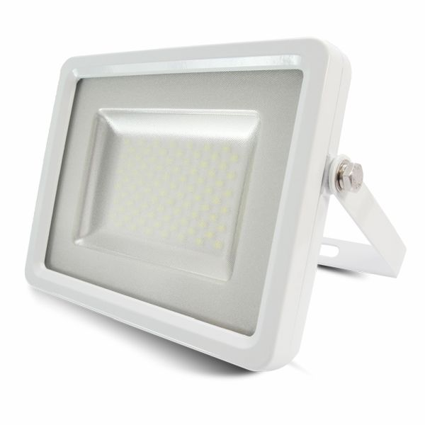 Ultratenký LED reflektor bílý 50W 4250lm teplá