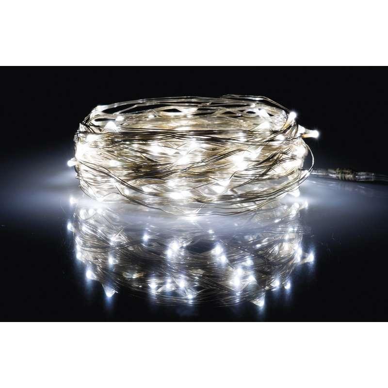 LED vánoční řetěz 4W denní světlo, 10m, voděodolný