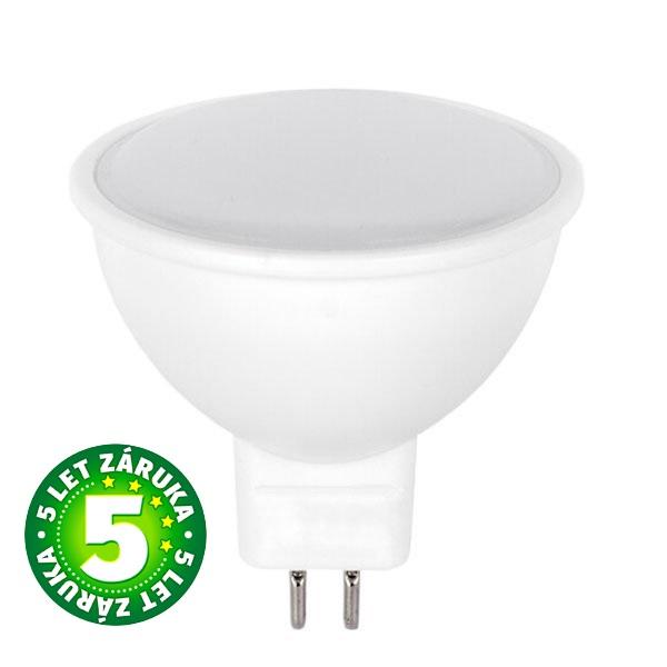 Akce: LED žárovka MR16 5W 320lm 12V, denní, 3+1