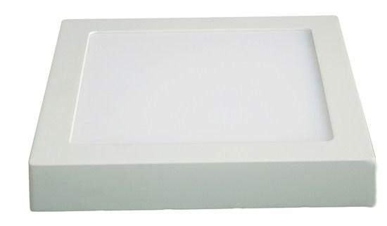 LED panel přisazený , 12W,  900lm, 4000K, čtvercový, bílý