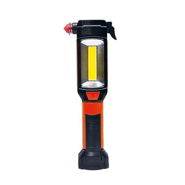 Multifunkční LED světlo,  3W COB + 1W LED, klip, magnet, flexibilní, 3x AAA