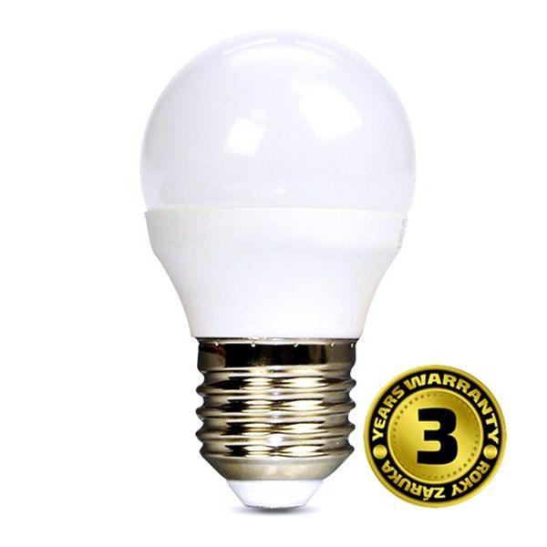 Akce: LED žárovka E27 6W 450lm G45, denní 3+1