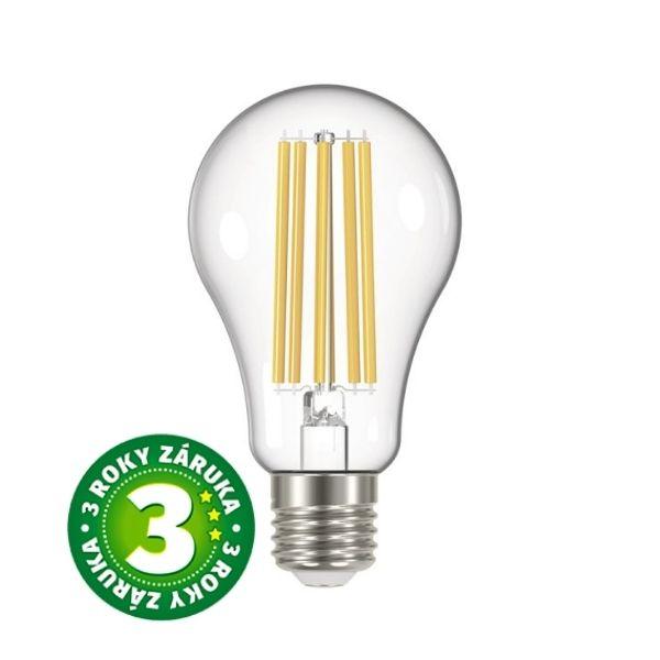 Retro LED žárovka E27 17W 2452lm teplá, filament, ekvivalent 150W