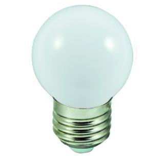 Barevn� LED ��rovka E27 1W b�l�