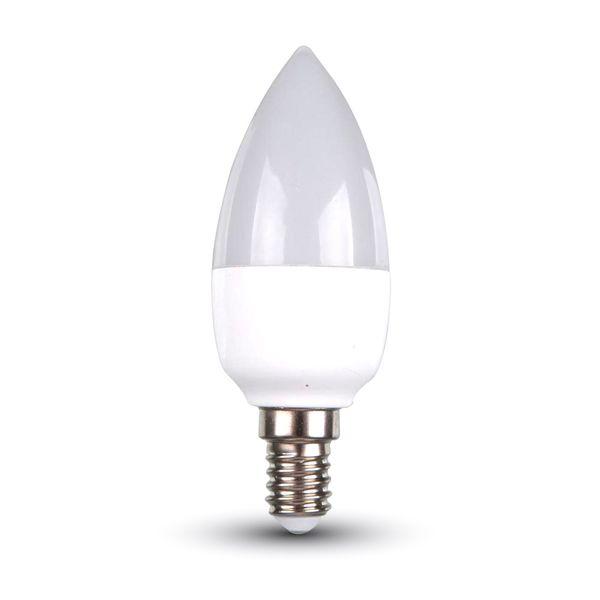 Akce: LED žárovka E14 6W 470lm teplá 3+1