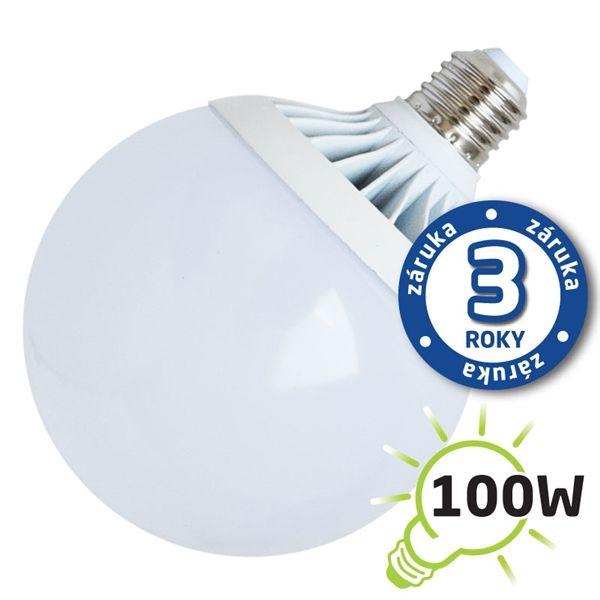 Akce: LED žárovka E27 18W 1450lm G120 teplá 3+1
