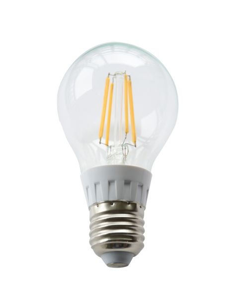 LED žárovka E27 7W 590lm teplá, filament, ekvivalent 47W