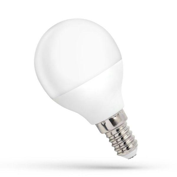 LED žárovka E14 1W 90lm G45 teplá, ekvivalent 10W