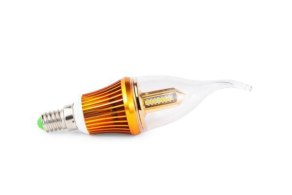 Akce: LED ��rovka E14 4W 450lm tepl�  3+1 zdarma