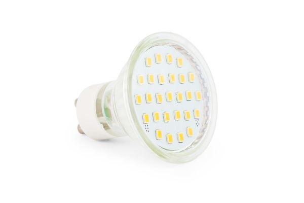 Akce: LED ��rovka GU10 4,5W 400lm tepl� 3+1 zdarma