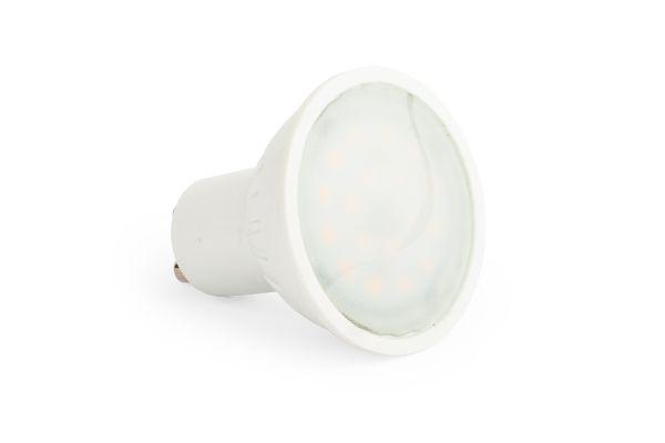 LED žárovka GU10 4W 360lm teplá, ekvivalent 35W