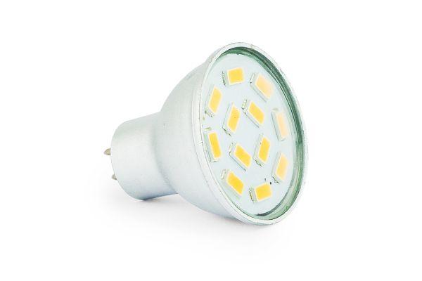 Akce: LED žárovka MR11 3W 260lm 12V teplá 3+1