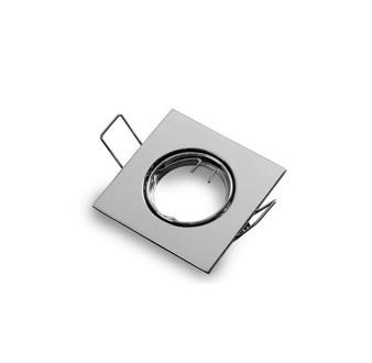 Podhledové bodové svítidlo výklopné chrom lesklý pro MR11 + patice GU10 zdarma