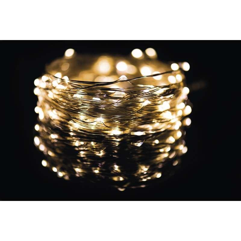LED vánoční řetěz 3,6W teplé světlo, 10m, voděodolný