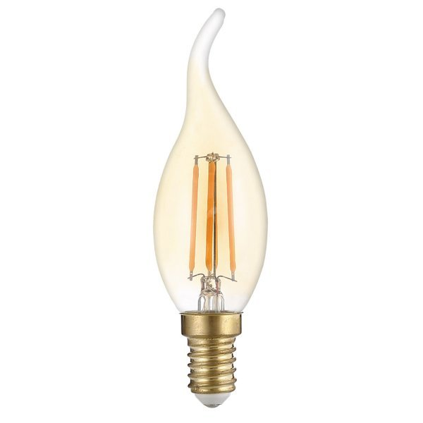 Stmívatelná Retro  LED žárovka E14 4W 400lm extra teplá, filament, ekvivalent 27W