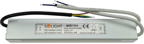Voděodolný LED napájecí zdroj 12V 60W 5A