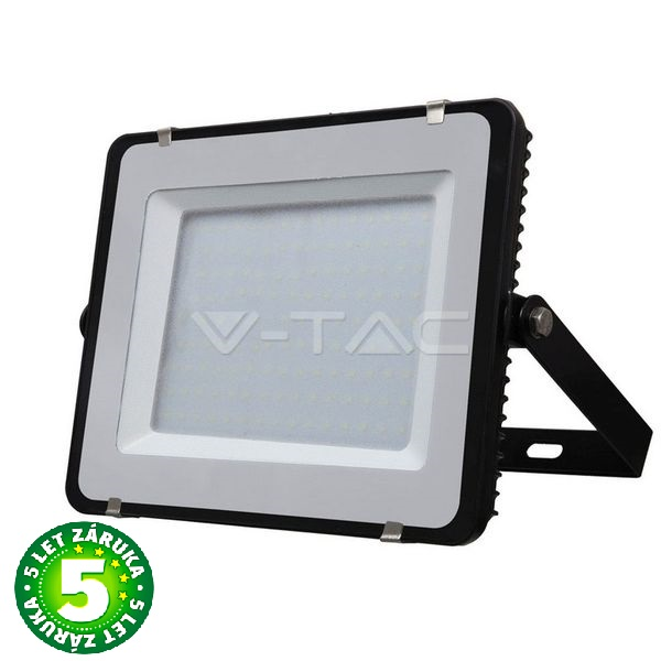 Prémiový ultratenký LED reflektor 150W 12000lm SAMSUNG čipy černý, denní