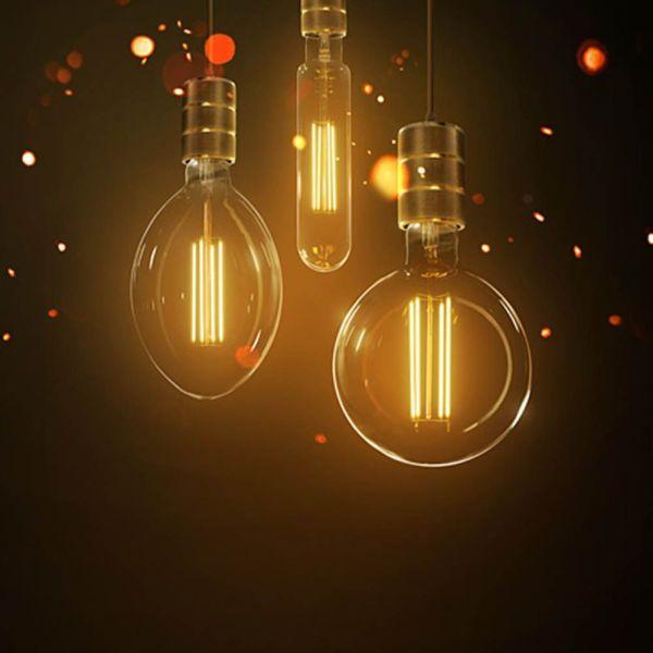 Retro MAXI LED žárovky E40