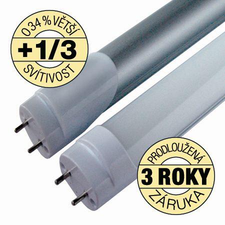 Akce: LED zářivka T8 10W 1000lm 60cm denní 9+1